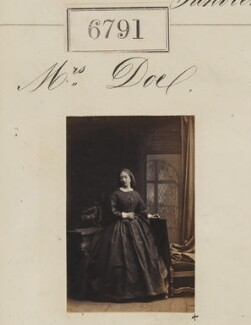 Mrs Doe, by Camille Silvy - NPG Ax56716