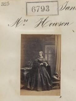 Mrs Howson, by Camille Silvy - NPG Ax56718