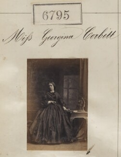 Miss Georgina Corbett, by Camille Silvy - NPG Ax56720