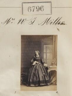 Mrs W.J. Miller, by Camille Silvy - NPG Ax56721