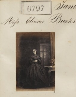 Miss Eleanor Breeks, by Camille Silvy - NPG Ax56722