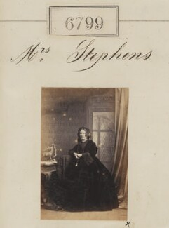 Mrs Stephens, by Camille Silvy - NPG Ax56724