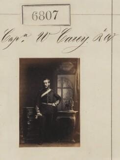 Captain W. Carey, by Camille Silvy - NPG Ax56732