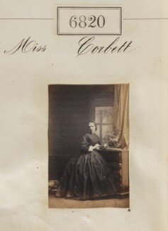 Miss Corbett, by Camille Silvy - NPG Ax56743