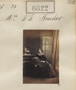 Mrs S.S. Tucker, by Camille Silvy - NPG Ax56745