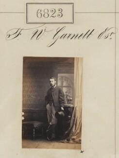 F.W. Garnett, by Camille Silvy - NPG Ax56746