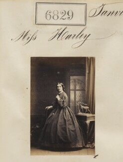 Miss Harley, by Camille Silvy - NPG Ax56752