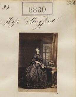 Miss Twyford, by Camille Silvy - NPG Ax56753