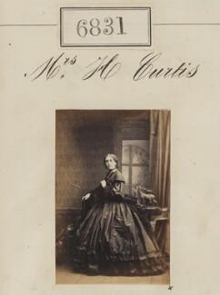 Mrs H. Curtis, by Camille Silvy - NPG Ax56754