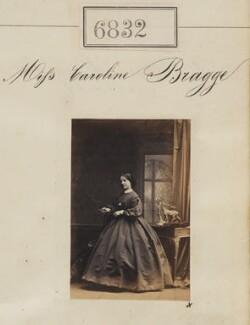 Miss Caroline Bragge, by Camille Silvy - NPG Ax56755