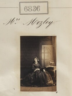 Mrs Mozley, by Camille Silvy - NPG Ax56759