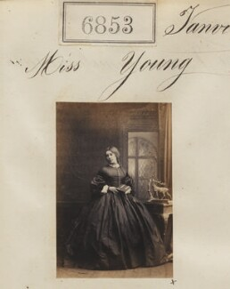Miss Young, by Camille Silvy - NPG Ax56776