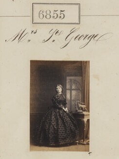 Mrs St George, by Camille Silvy - NPG Ax56778