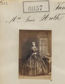 Mrs Louis Huth, by Camille Silvy - NPG Ax56780