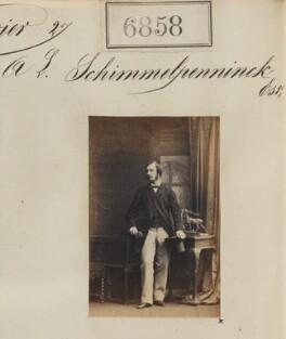 A.L. Schimmelpenninck, by Camille Silvy - NPG Ax56781