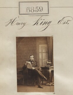 Henry King, by Camille Silvy - NPG Ax56782