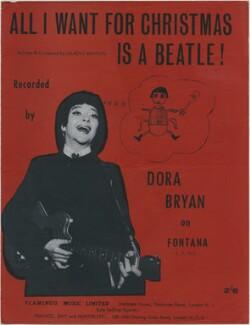 Dora Bryan, published by Flamingo Music Ltd, after  Unknown photographer - NPG D48364