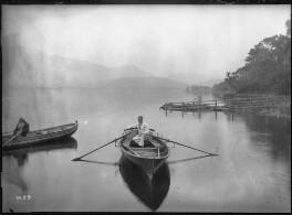 John Ruskin; Arthur Severn, by John McClelland, or by  Percy Lund & Co - NPG x12189MP