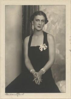 Princess Marina, Duchess of Kent, by Bertram Park - NPG x199896