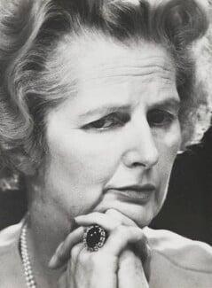 Margaret Thatcher, by David Newell-Smith - NPG x200222