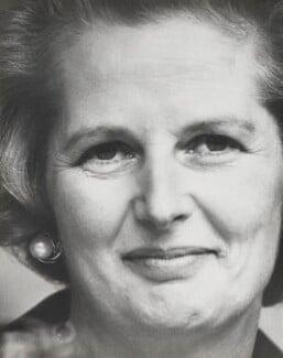 Margaret Thatcher, by David Newell-Smith - NPG x200223