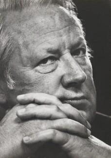Sir Edward Heath, by David Newell-Smith - NPG x200251