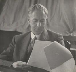 Walter McLennan Citrine, 1st Baron Citrine, by Bertram Park - NPG x199917