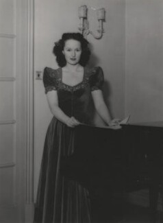 Eileen Joyce, by Bertram Park - NPG x199920