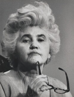 Jennie Lee, by David Newell-Smith - NPG x200307