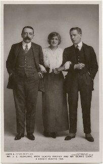 John E. Vedrenne; Dame Gladys Cooper; Dennis Eadie, by Foulsham & Banfield, published by  Rotary Photographic Co Ltd - NPG x201022