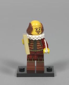William Shakespeare ('William Shakespeare Lego Minifigure'), by Unknown artist - NPG D48054