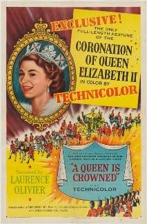 Queen Elizabeth II ('A Queen is Crowned'), by Unknown artist - NPG D48064