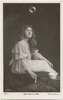 Phyllis Dare, by Foulsham & Banfield, published by  Rotary Photographic Co Ltd - NPG x201028