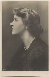 Janet Alexander, by Lizzie Caswall Smith, published by  Rotary Photographic Co Ltd - NPG x200384