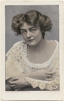 Adrienne Augarde, by Lizzie Caswall Smith, published by  Millar & Lang Ltd - NPG x200388