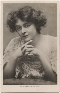 Adrienne Augarde, by Lizzie Caswall Smith, published by  Birn Brothers - NPG x200389