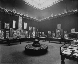 Interior of the fifth Arts and Crafts Society Exhibition at the New Gallery (South Gallery), by Sir Emery Walker - NPG x200681