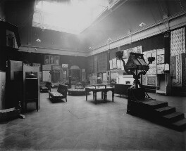 Interior of the fifth Arts and Crafts Society Exhibition at the New Gallery (North Gallery), by Sir Emery Walker - NPG x200682