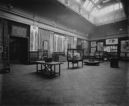 Interior of the fifth Arts and Crafts Society Exhibition at the New Gallery (West Gallery), by Sir Emery Walker - NPG x200683