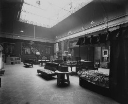 Interior of the fifth Arts and Crafts Society Exhibition at the New Gallery (North Gallery), by Sir Emery Walker - NPG x200684