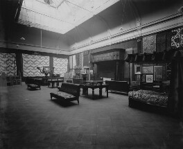 Interior of the fifth Arts and Crafts Society Exhibition at the New Gallery (North Gallery), by Sir Emery Walker - NPG x200687
