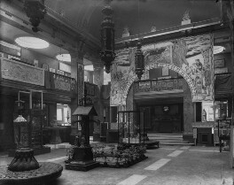 Interior of the fifth Arts and Crafts Society Exhibition at the New Gallery (Central Hall), by Sir Emery Walker - NPG x200691