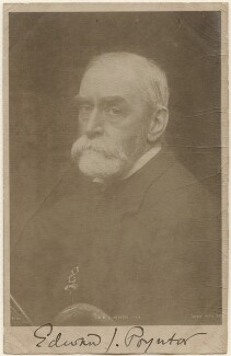 Sir Edward John Poynter, 1st Bt, published by Rotary Photographic Co Ltd - NPG x200197