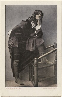 Dorothea Baird (Mrs H.B. Irving) as Rosalind in 'As You Like It', by John & Lizzie Caswall Smith, published by  Millar & Lang Ltd - NPG x200391