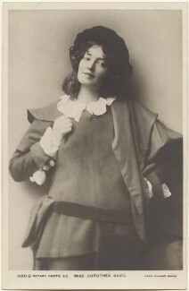 Dorothea Baird (Mrs H.B. Irving) as Rosalind in 'As You Like It', by John & Lizzie Caswall Smith, published by  Rotary Photographic Co Ltd - NPG x200392
