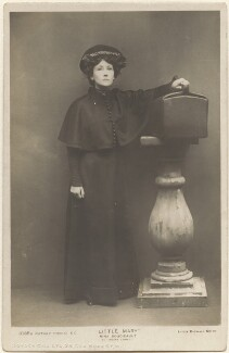 Nina Boucicault as 'Moira Loney' in 'Little Mary', by Lizzie Caswall Smith, published by  Rotary Photographic Co Ltd - NPG x200394