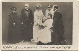 Nina Boucicault; Frederic Lewis Tuffley; Enid Spencer Brunton; Fyfe Alexander; Alfred Edward ('A.E.') Matthews; Clarence Blakiston in 'Little Mary', by Lizzie Caswall Smith, published by  Rotary Photographic Co Ltd - NPG x200396