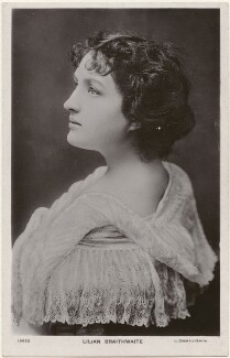 Dame (Florence) Lilian Braithwaite, by Lizzie Caswall Smith, published by  E. Wrench - NPG x200397