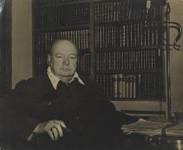 Winston Churchill, by Bertram Park - NPG x199908