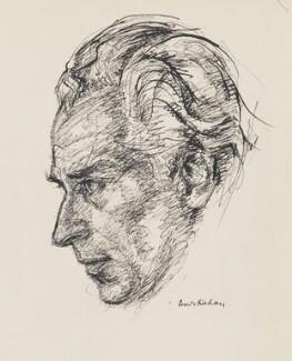 Rudolf Schwarz, by Louis Kahan - NPG 7076